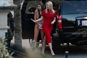 Ivanka Trump, addio alla Casa Bianca in rosso
