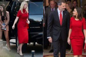 Ivanka Trump come Letizia di Spagna: esce di scena col look da Regina