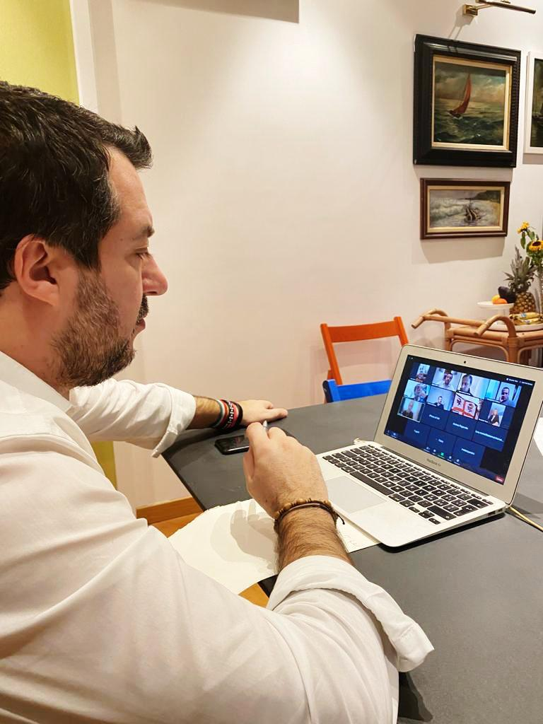 salvini videoconferenza