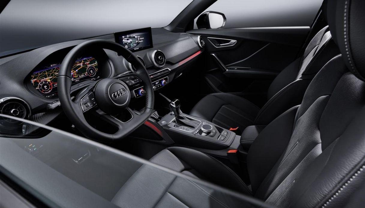 Gli interni della nuova Audi Q2