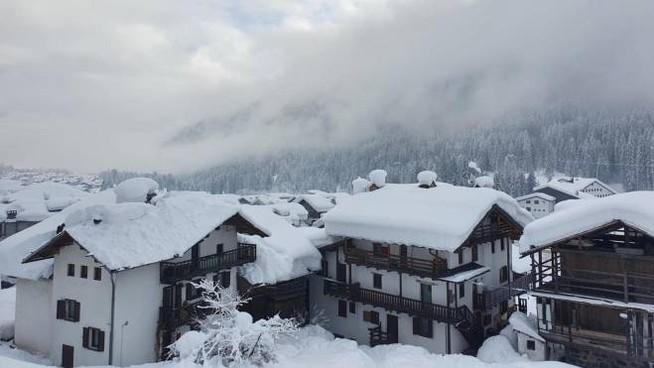 Tornerà la neve in molte località della Pianura padana (Ansa)