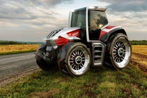 Steyr Konzept: ecco il trattore con cinque motori elettrici