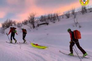 Valanga travolge uno scialpinista in Alta Val Varaita