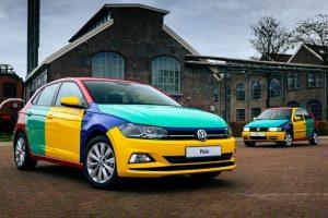 Volkswagen Polo Harlequin 2021: ritorna la bizzarra multicolore