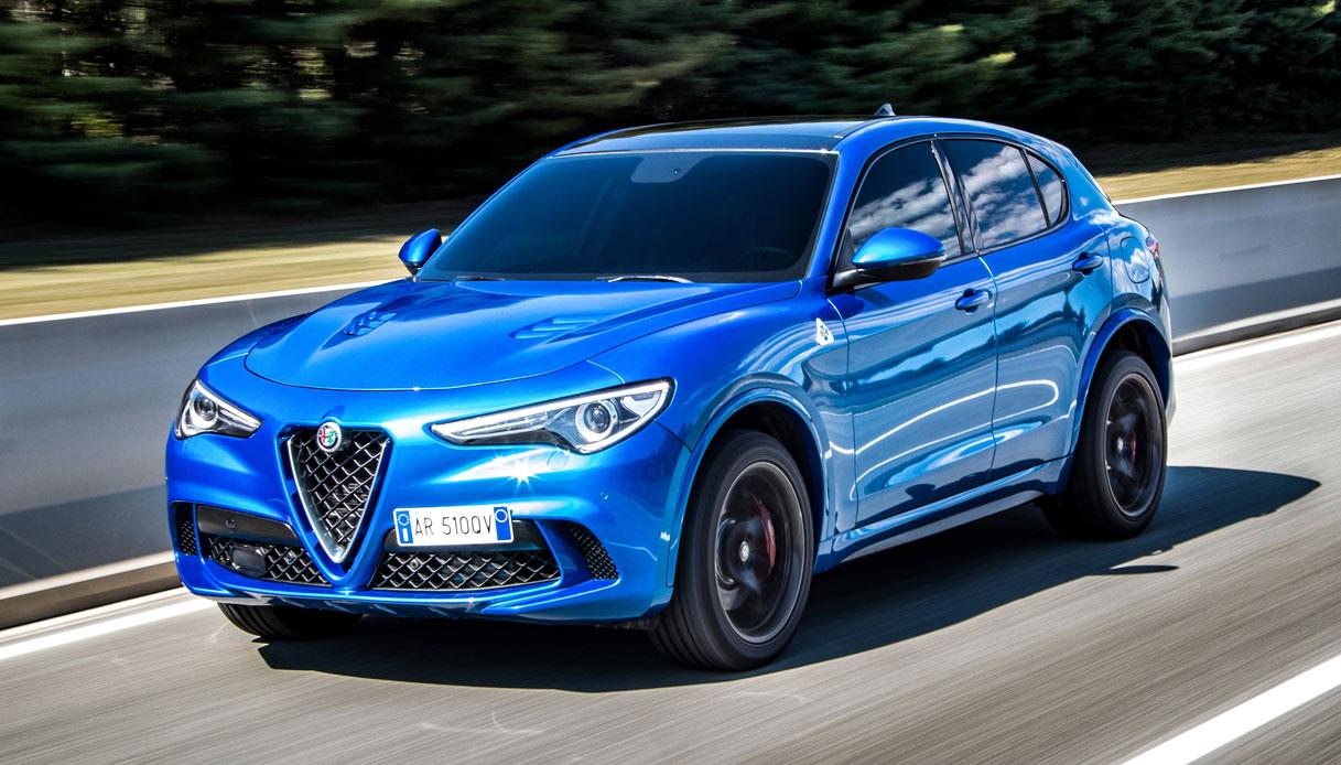 Alfa Romeo Stelvio, primo D-SUV della Casa