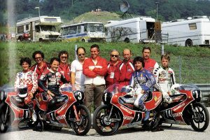 Anche la Mandello dei motori piange il campione Fausto Gresini