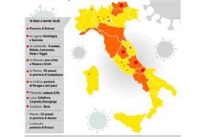 Covid, Speranza firma le ordinanze: Marche, Piemonte e Lombardia in arancione | La Sardegna è prima la Regione a diventare bianca