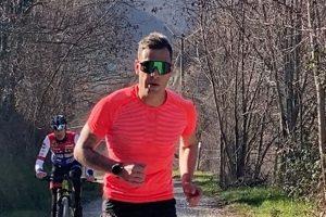 """""""I miei confini"""", Lotti completa la maratona per lo sport in 3 ore e 29 minuti"""