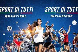 """Riparte """"Sport di Tutti"""" sui temi """"quartieri"""" e """"inclusione"""""""