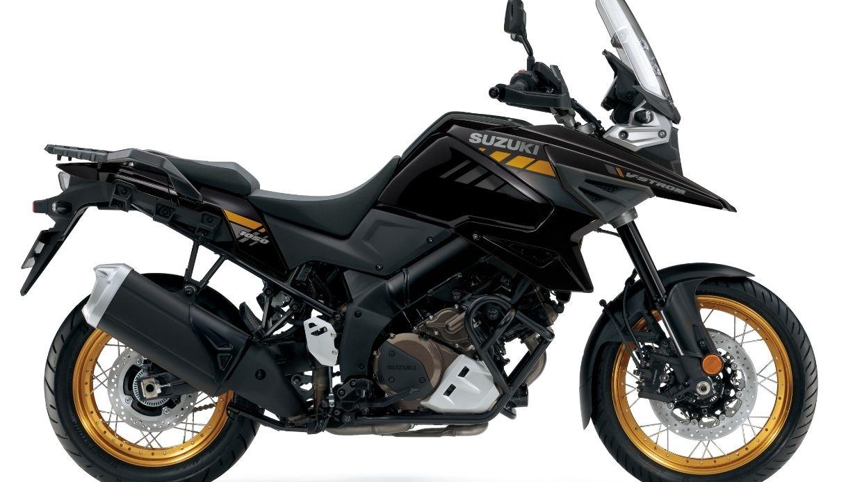 La nuova Suzuki V-STROM 1050 XT per il 2021