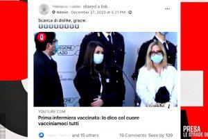 Dagli insulti all'infermiera vaccinata alle teorie del complotto, l'inchiesta di PresaDiretta…