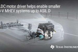 Driver per motore integrato BLDC Grado 0 per sistemi di azionamento dei motori a 48 V