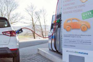 Auto alimentate a biometano: meno usura nei motori