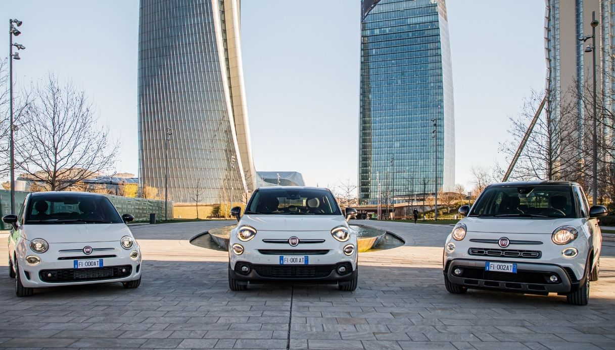 Hey Google la nuova Famiglia Fiat 500