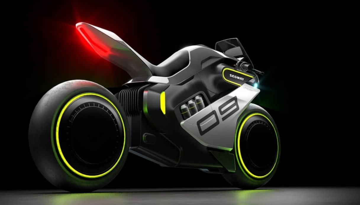La primissima moto ibrida elettrica-idrogeno