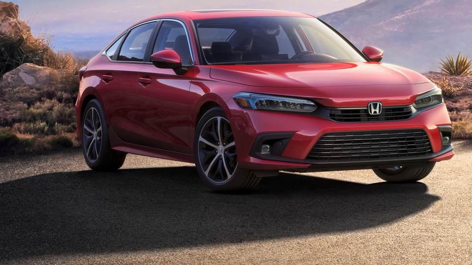 Honda Civic: frontale
