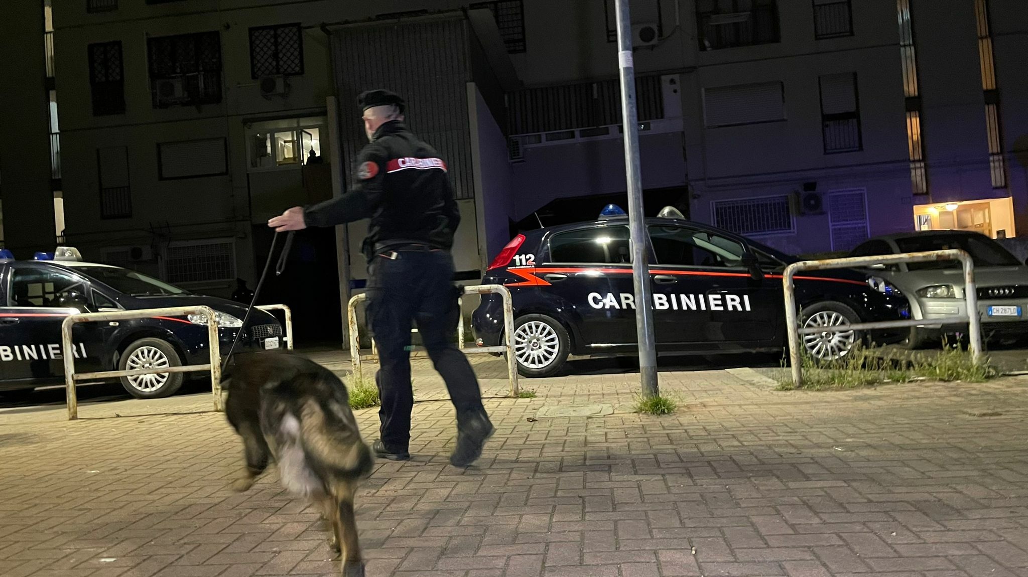 L'operazione antidroga dei Carabinieri a Tor Bella Monaca (8)-2