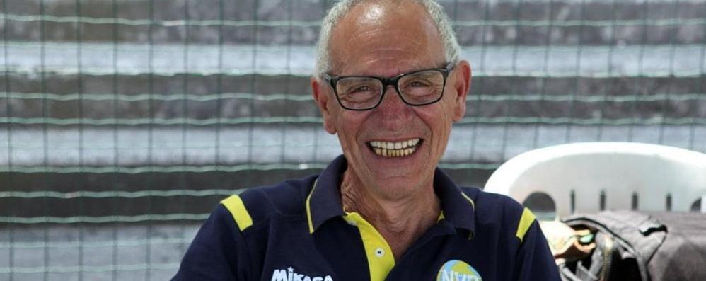 Sport in lutto a Burago Molgora per la morte di Natale di Blasi, storico presidente della New Volley