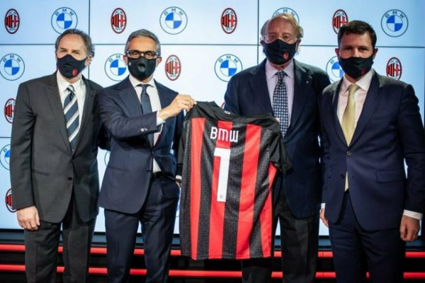 BMW e Milan: nuovo sponsor per un binomio motori-calcio