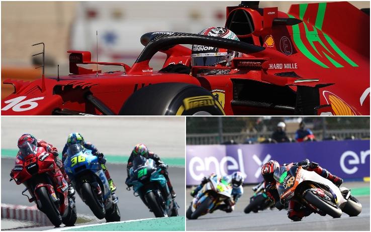 F1 a Portimao + MotoGP e MotoE a Jerez, la domenica dei Motori su Sky Sport (e TV8)