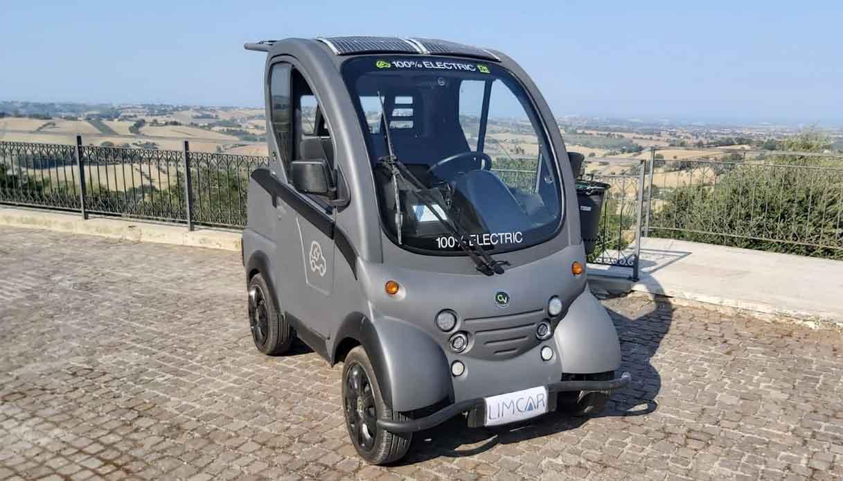 Il nuovo quadriciclo 100% elettrico ElettraCity 2021 dell'azienda Limcar