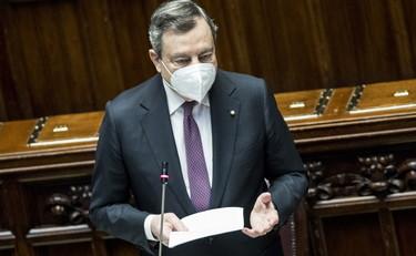 """Mario Draghi, """"questa non è la maggioranza di Conte"""": riaperture, faccia a faccia col centrodestra alla Camera"""