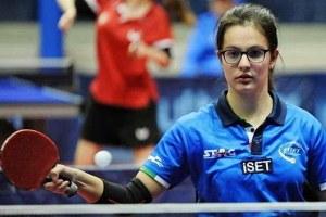 Carlotta Ragazzini, atleta faentina di tennistavolo paralimpico