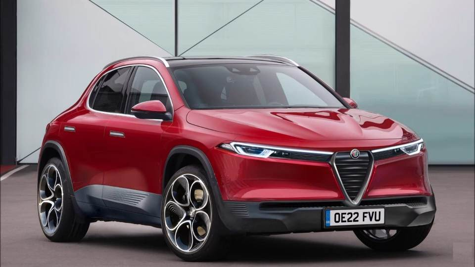 Rendering grafico di Alfa Romeo Brennero
