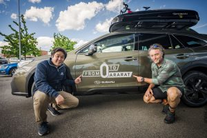 Subaru Outback accompagnera' Nico Valsesia in 'From 0 to Ararat'