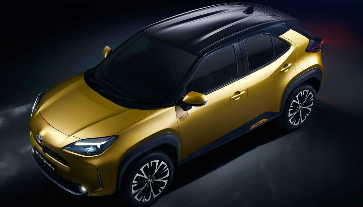 Toyota Yaris diventa un SUV