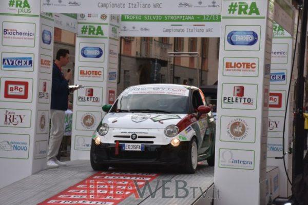 Cherasco: rombo di motori, partito il Rally d'Alba 2021 (FOTO E VIDEO)