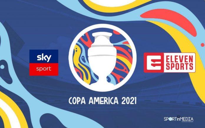 Copa America 2021 in Tv