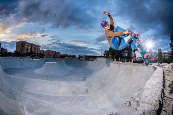 Da Roma a Tokyo in skate sognando le Olimpiadi