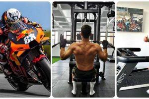 Oliveira tra palestra, bici e motori: l'allenamento della sorpresa della MotoGP