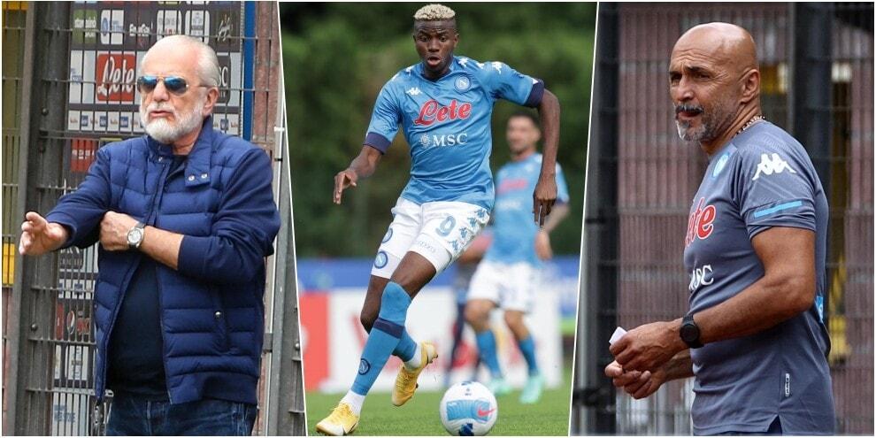 Osimhen show a Dimaro: il Napoli di Spalletti vince 12-0