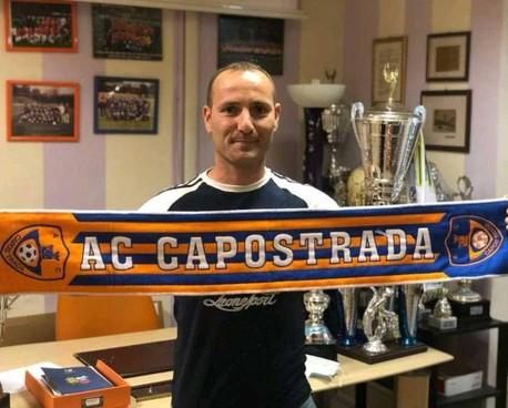 Gionata Luchetti, allenatore del Capostrada Belvedere