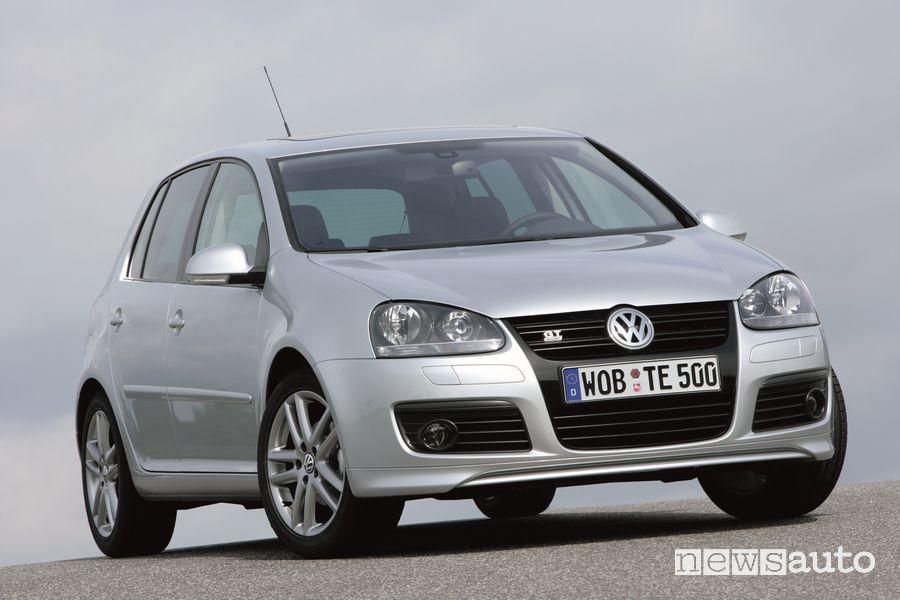 Volkswagen Golf V GT Sport con il TSI
