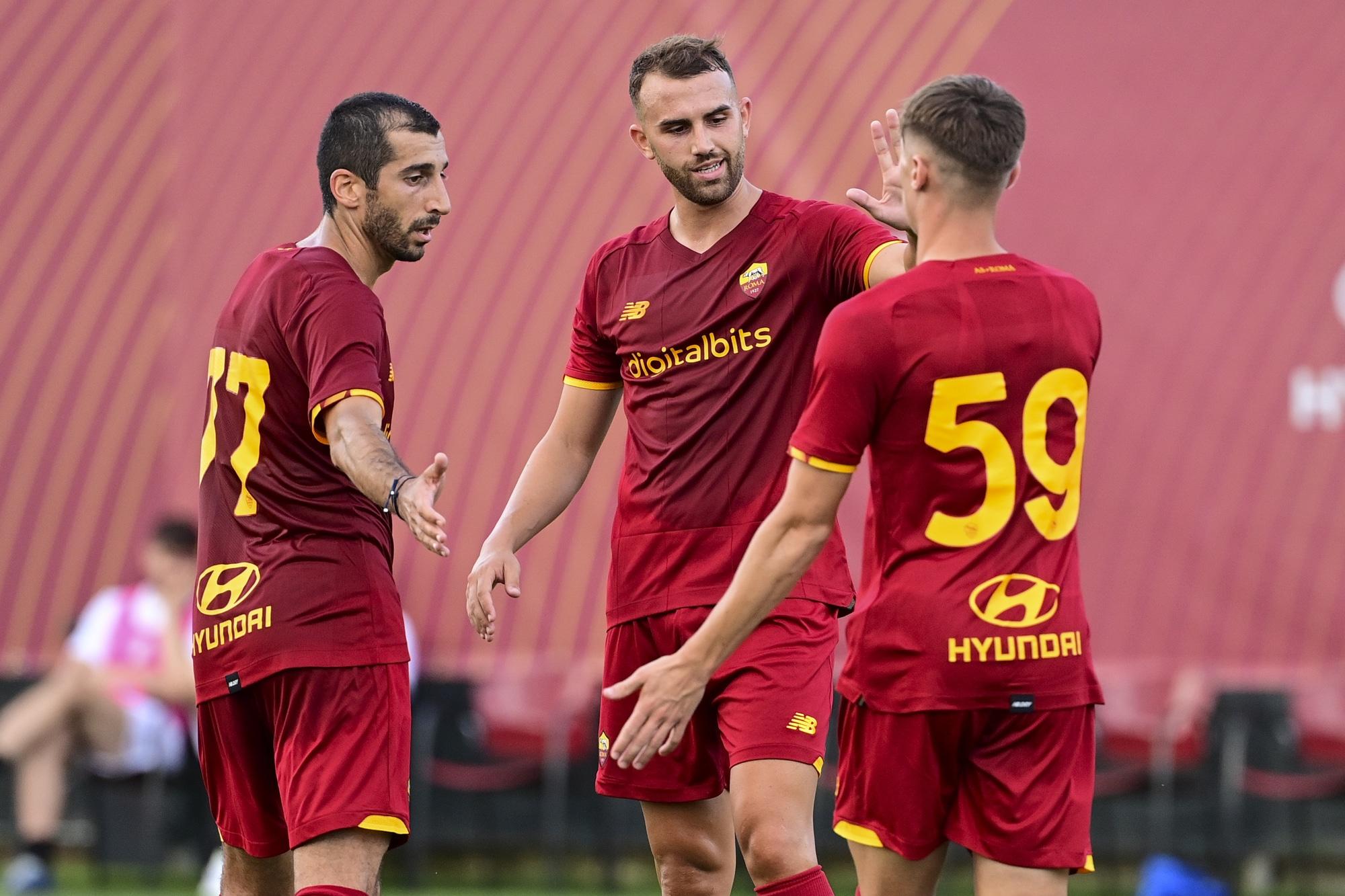 Roma-Montecatini 10-0: Zaniolo in gol nella prima amichevole di Mourinho