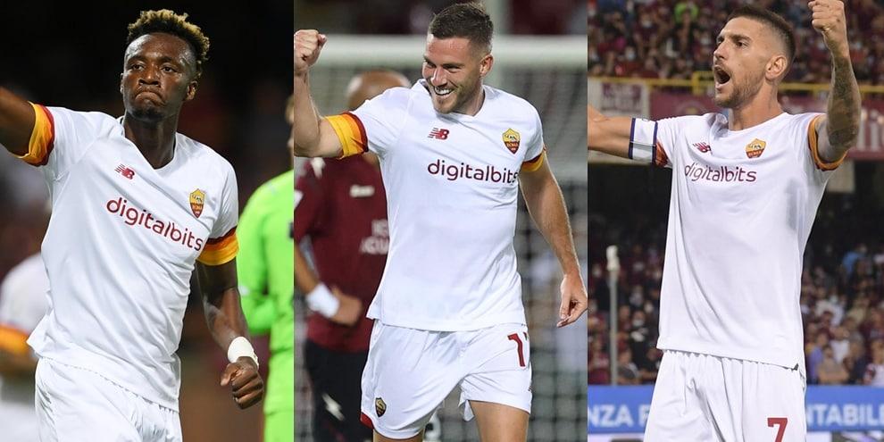 Pagelle Roma: migliori e peggiori della vittoria con la Salernitana. Pellegrini top!
