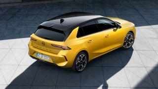 Nuova Opel Astra, 3/4 posteriore dall'alto