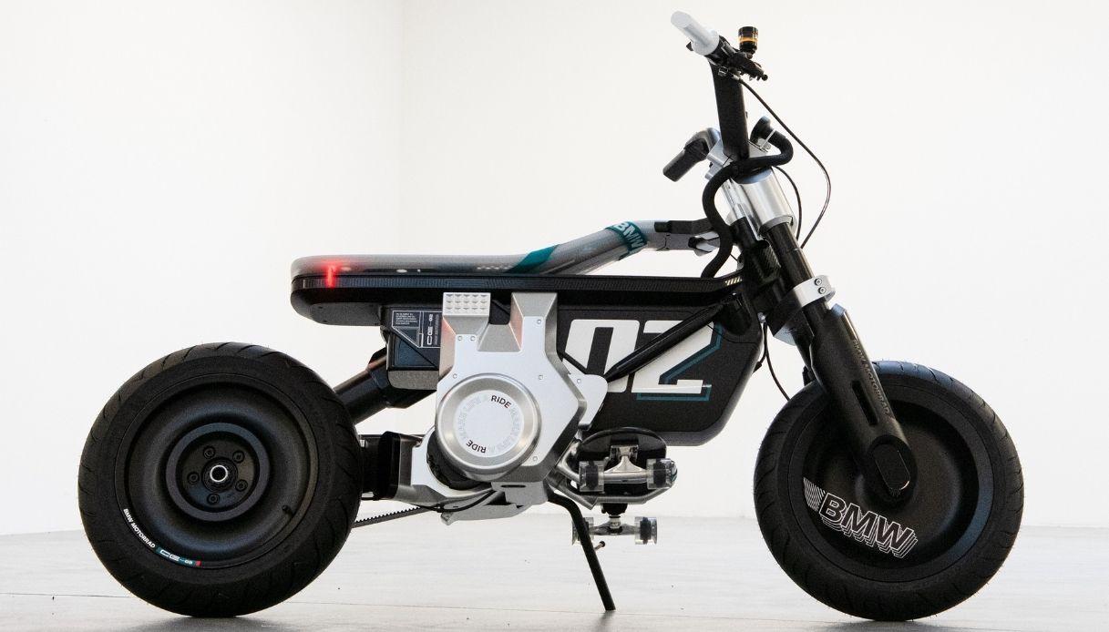 La moto del futuro di BMW