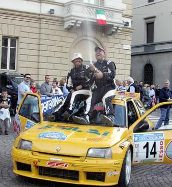 Il team sondriese composto da Marco. (pilota) e Laura Gianesini. (navigatore) Il rallista parteciperà anche quest'anno dopo aver vinto tre edizioni della Coppa