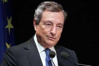 """Draghi e la 'sfida': """"Ripresa sia duratura e sostenibile"""""""