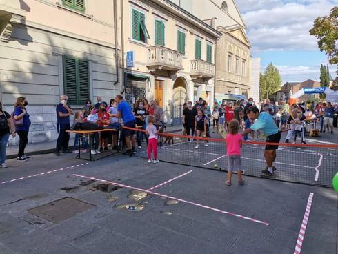 Tante le attività sportive che si sono svolte per le strade del centro campigiano