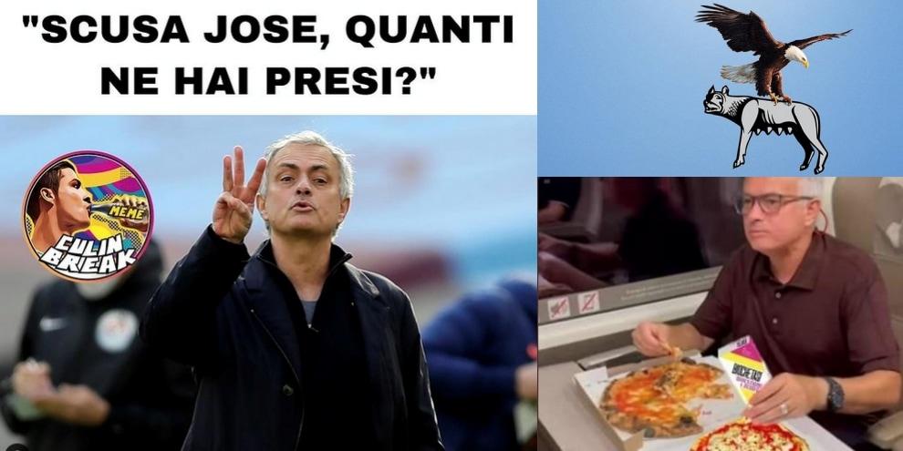 La Lazio vince il derby e i tifosi si scatenano sui social con ironie e sfottò