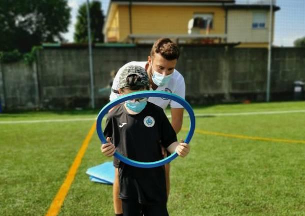 corRete calcio bambini inclusione