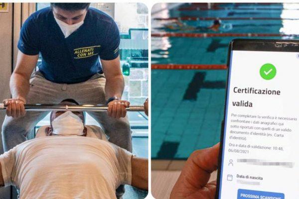 Palestre e piscine, Green Pass obbligatorio: le regole del decreto per chi fa sport al chiuso