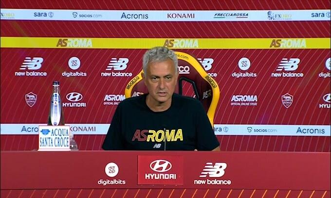 """Mourinho: """"Rosso a Pellegrini? Ca..ta dell'arbitro"""""""