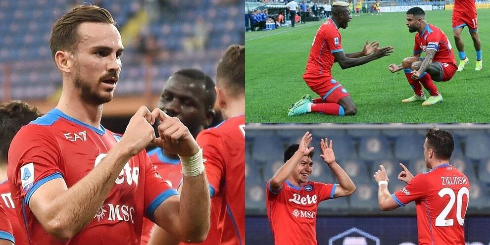 Doppio Osimhen, Fabian Ruiz e Zielinski: il Napoli non si ferma più