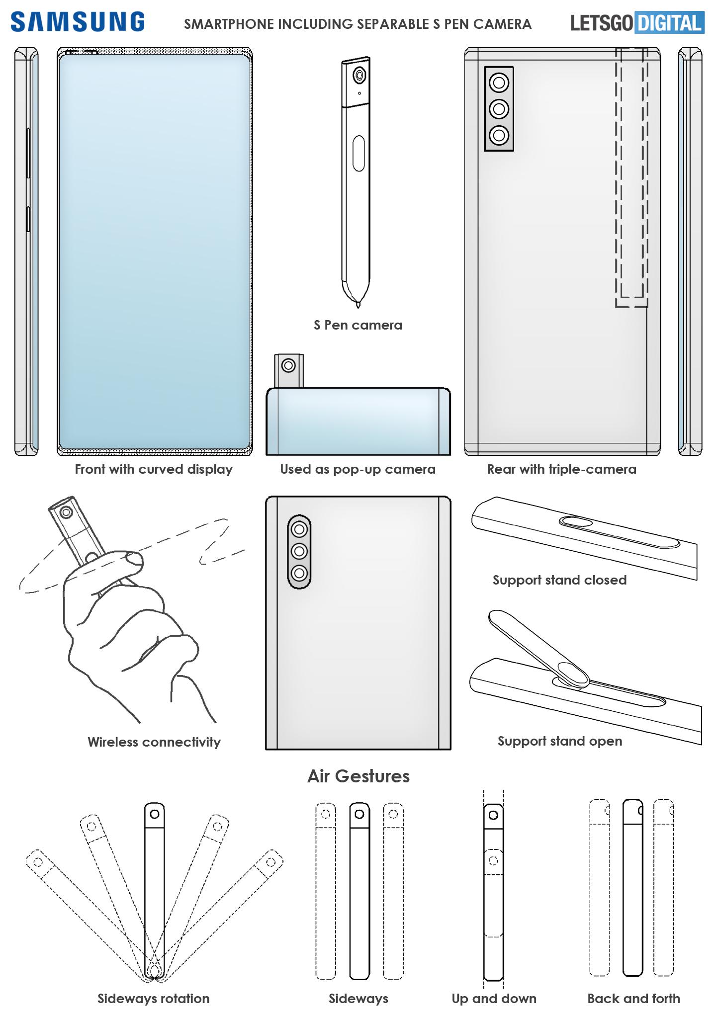 Fotocamera Samsung Note S Pen